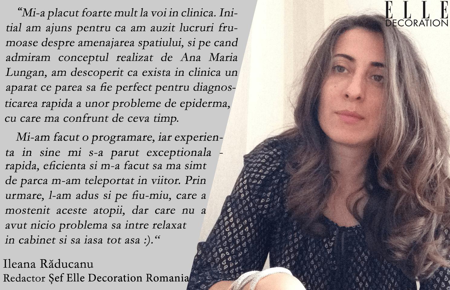Ileana Raducanu revista Elle
