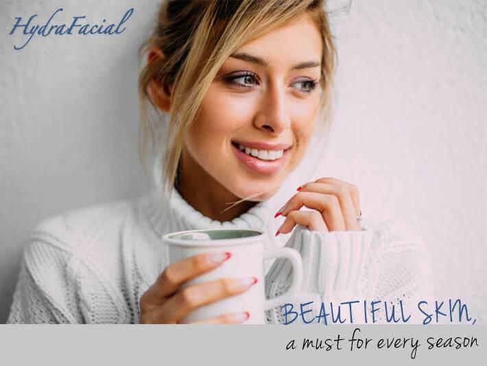 Hydrafacial este un aparat de ultima generatie folosit in clinicile estetice pentru tratamente faciale