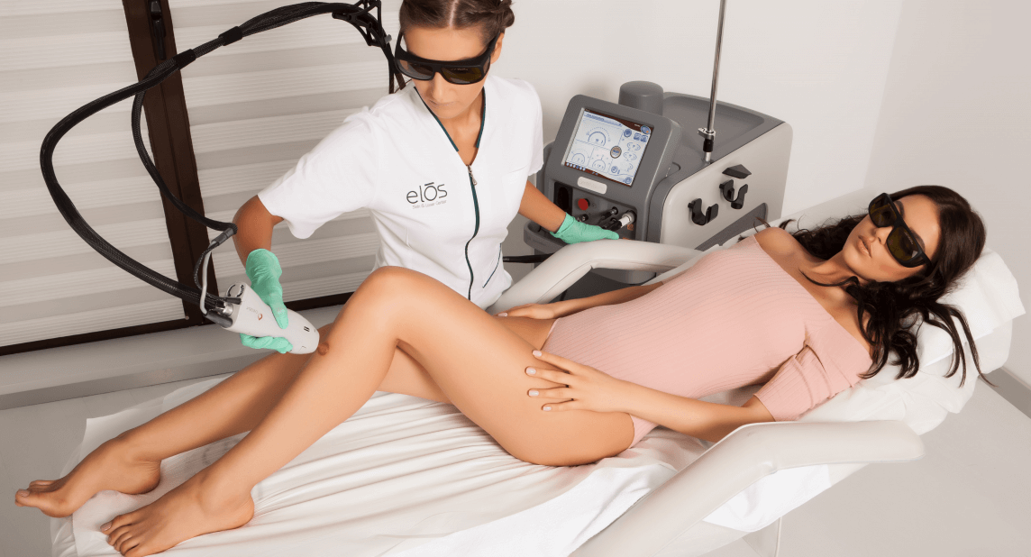 Sedinte de epilare definitiva cu laserul in Bucuresti disponibile in clinica medical estetica ELOS SKIN&LASER CENTER